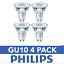 DEL-GU10-Ampoules-a-economie-d-039-energie-Ampoules-Spotlight-Lampe-Bon-etat-Ampoules-Philips miniature 2