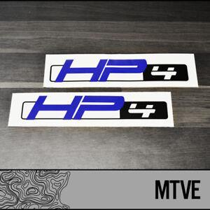 High Performance Parts >> 2x Bmw Hp4 Vinyl Decals Stickers Motorbikes S1000rr High