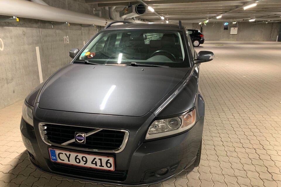 Volvo V50 1,6 D Diesel modelår 2008 km 197000 Gråmetal