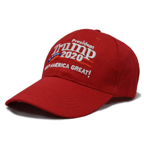 Donald Trump 2020 Keep America Great Again Cap Embroidered Baseball Red Hat  OO