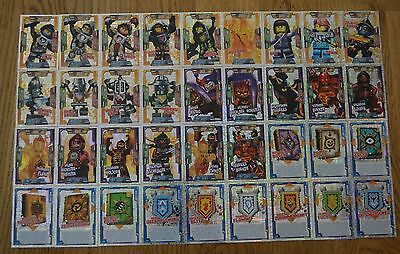 Lego Nexo Knights™ Trading Card Game all 36 Spezial Foil Cards Complete Set
