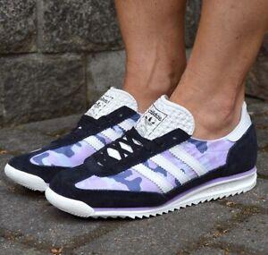 Details about Adidas SL 72 Damen Schuhe Sneaker adv eqt zx racer Women camouflage schwarzweiß