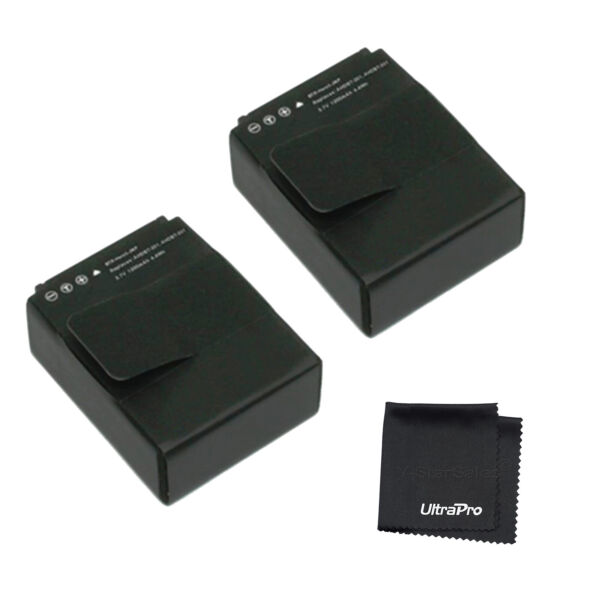 2x Ahdbt 301/201 Batterie + Bonus Pour Gopro Hero 3