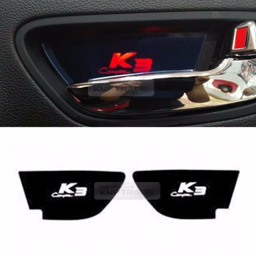 Promotion 3Color LED Door Catch Inside Handle Plate 2P For KIA 14-18 Cerato Koup