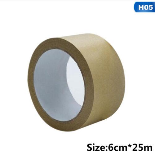 Braun Kraftpapier Band Selbstklebend Stark Öko Verpackung Paket 25M D fchd
