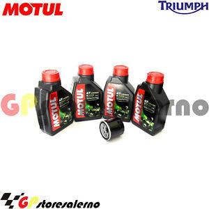 TAGLIANDO-OLIO-FILTRO-MOTUL-5100-10W40-TRIUMPH-865-SCRAMBLER-2008