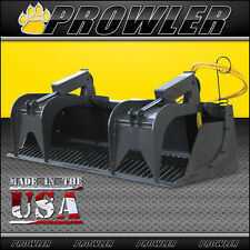 72 Heavy Duty Rock Grapple Bucket Attachment For Skid Steer Loaders