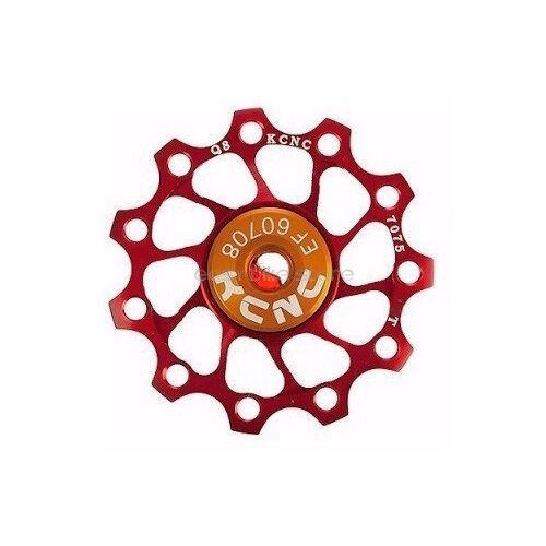 RED KCNC Jockey Wheel Pulley Ultra Light 11T Shimano Campagnolo SRAM BIKE