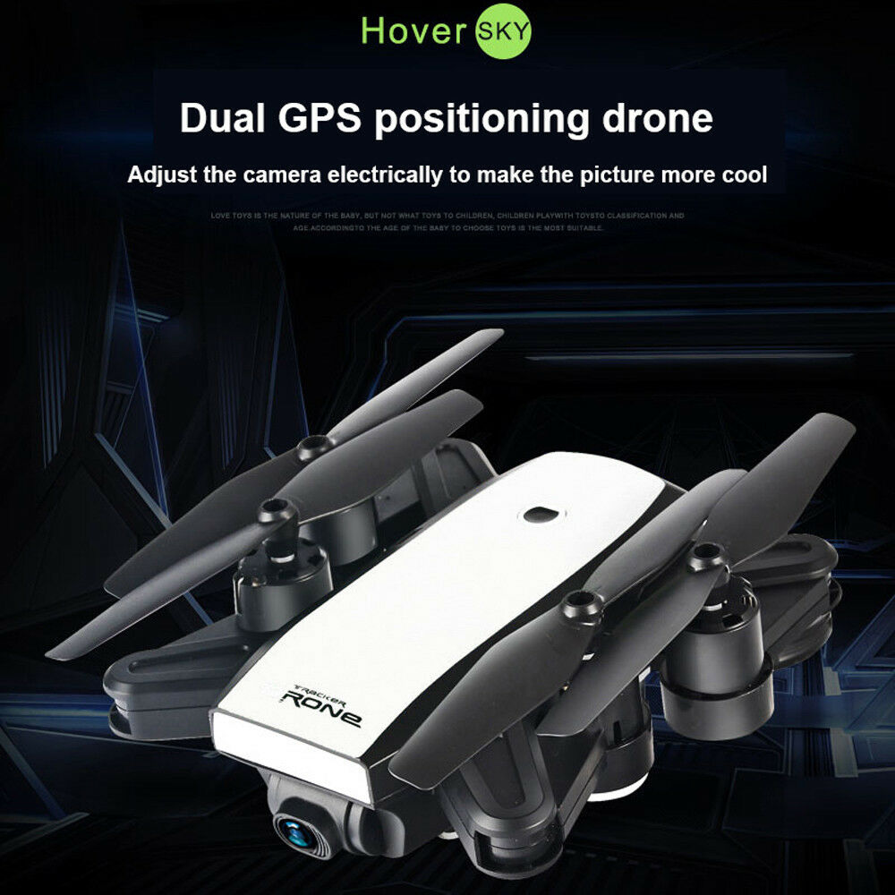 Dual GPS FPV Drone RC Quadcopter with 720P HD 2.0MP Camera Wifi Quadcopter