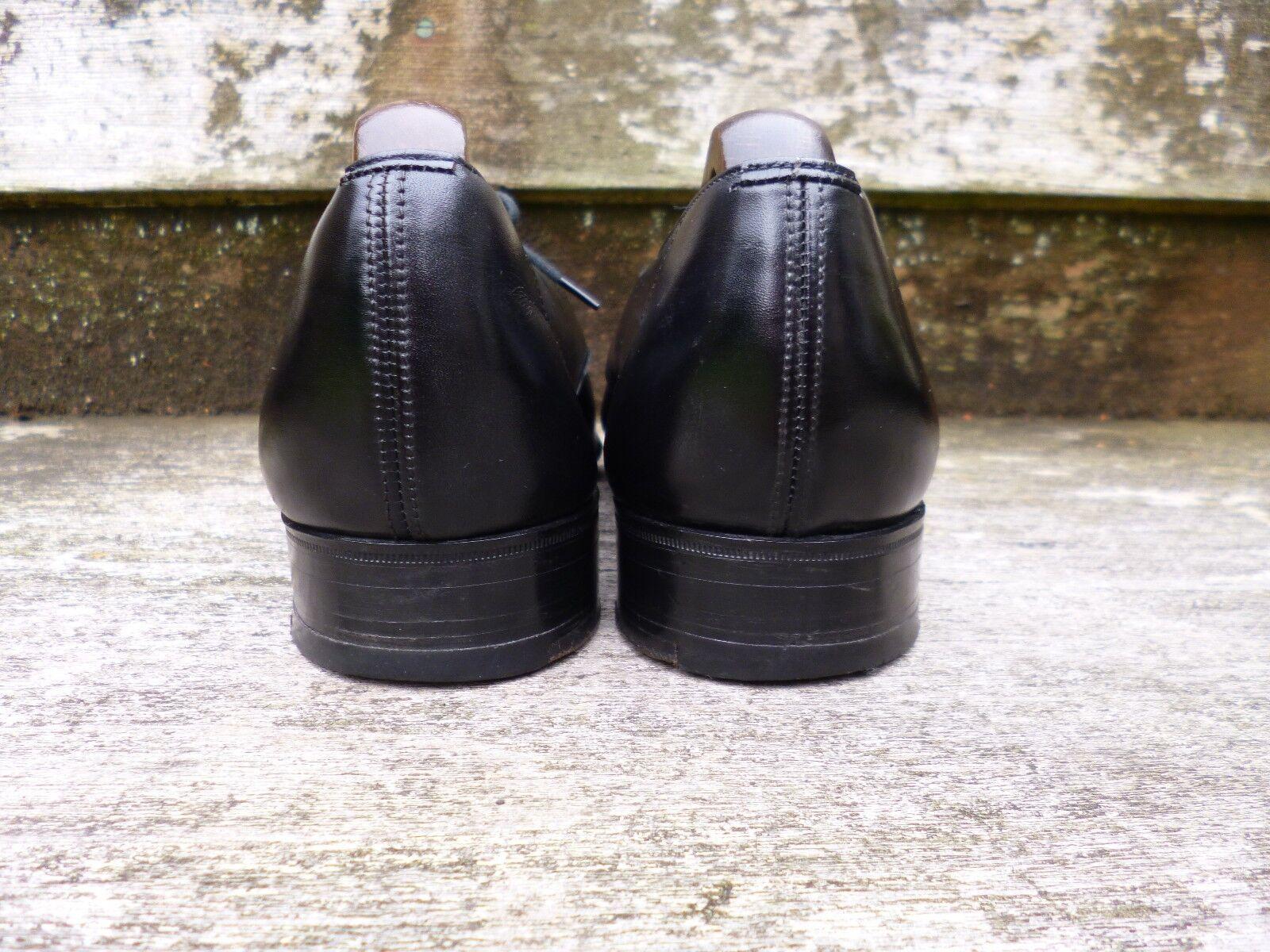 CHURCH VINTAGE DERBY DERBY DERBY – BLACK CALF – UK 8  – EXCELLENT CONDITION bb10a3