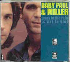 Baby Paul & Miller - Tears In The Rain 1998 CD-Maxi