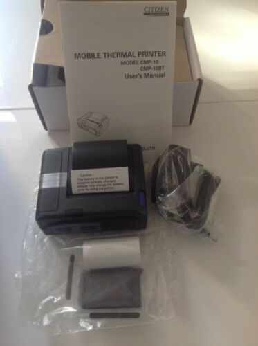CMP-10-E5 Citizen Mobile PoS Thermal Printer Model 56J Ref