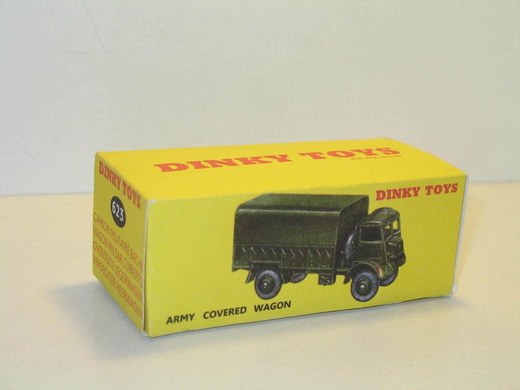 N57, Caja camión cubierto wagon militar 623 DINKY