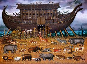 Buffalo Games - Charles Wysocki - Noah and Friends - 1000 Piece Jigsaw Puzzle