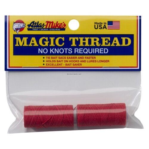 Atlas Mike/'s Magic Thread Spool NEW 2 per Bag Red 66026
