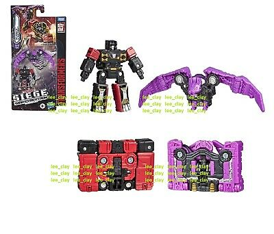 New Transformers War For Cybertron Siege Rumble /& Ratbat in stock MISB