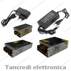 Trasformatore-12v-Alimentatore-Stabilizzato-Adattatore-Striscia-Led-strip-Switch
