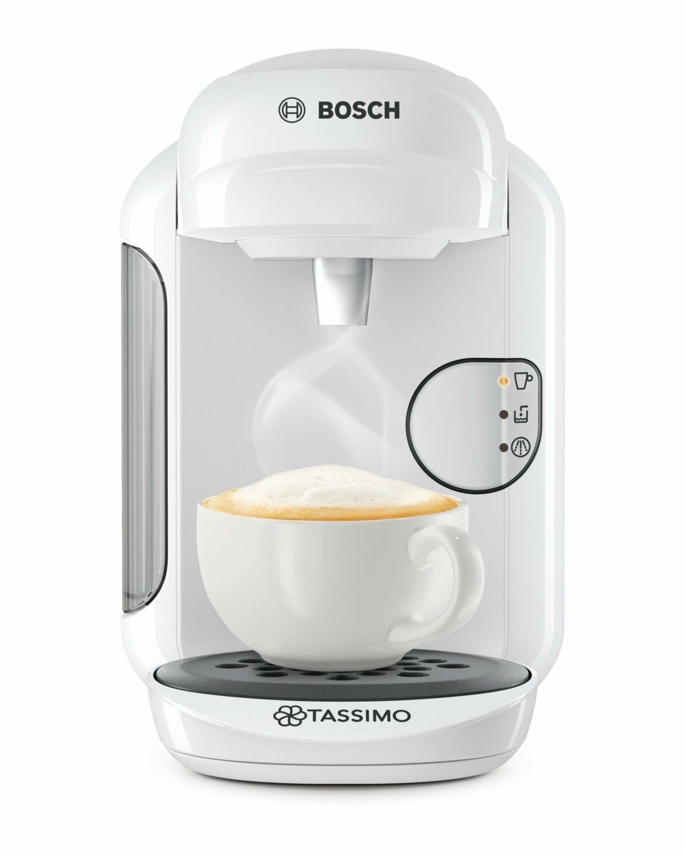 Bosch TAS1404 Tassimo Vivy 2 Multibeam Coffee Maker 1300W White Capsules Genuine