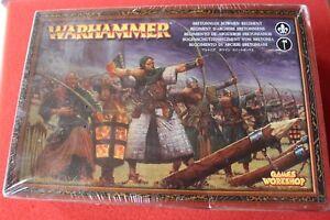Atelier de Jeux Warhammer Bretonnian Bowmen Regiment Bnib Nouveau 16 Modèles Gw