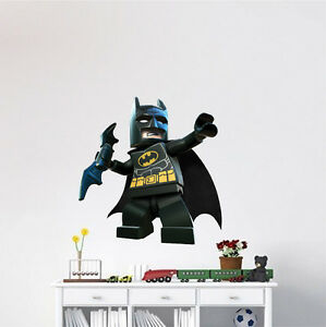 Image Is Loading Lego Batman Wall Decal Superhero Wall Design The