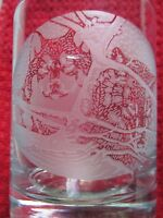 National Wildlife Federation Wolf Etched Glasses - Set Of 3