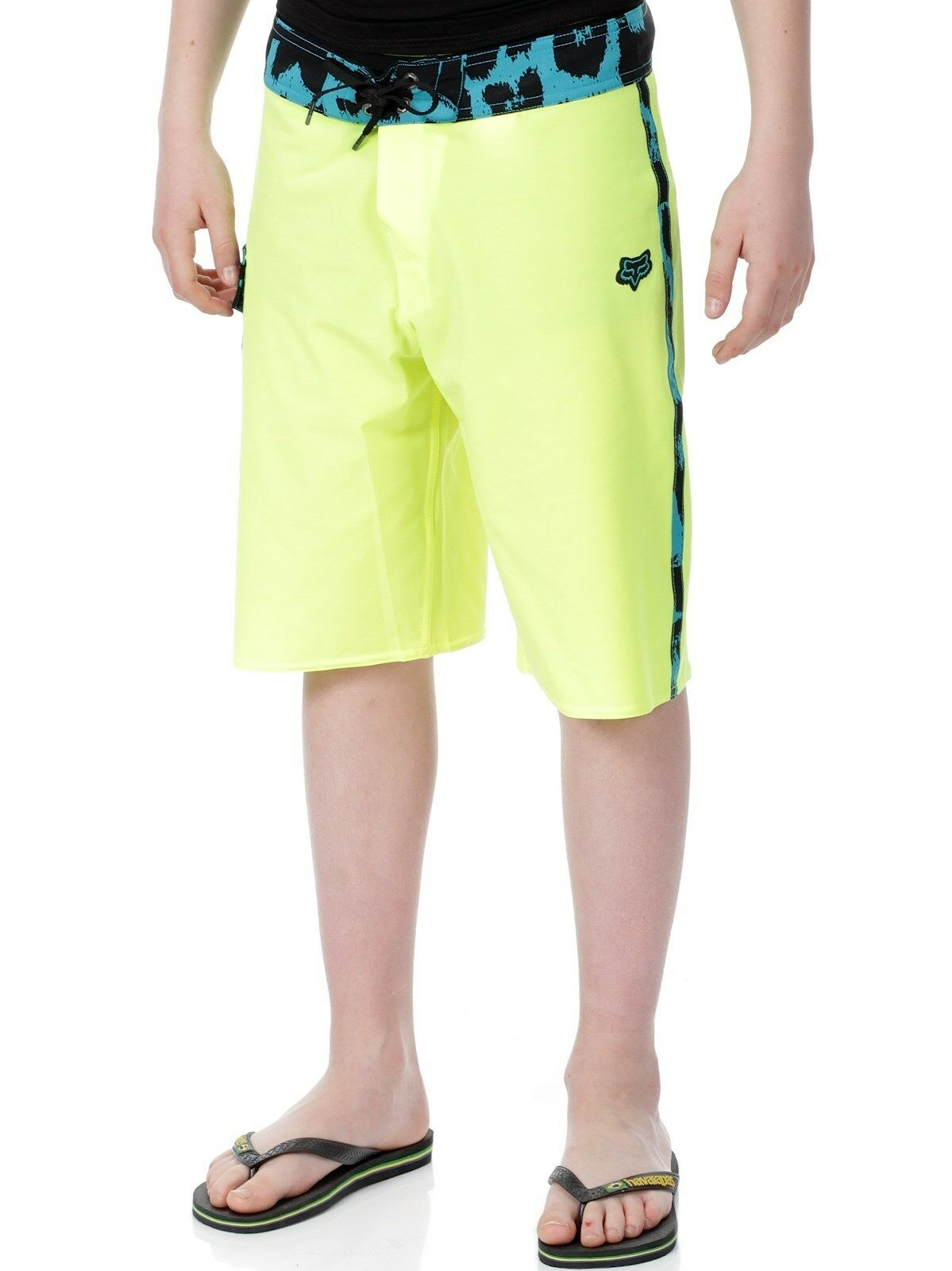 NEW FOX RACING board shorts swim Camino Day Glow yellow 30 32 34
