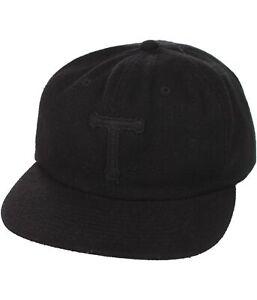 Angemessen Tavik Herren Logo Baseball Kappe Jetblack Einheitsgröße Hochwertige Materialien Hüte & Mützen Herren-accessoires