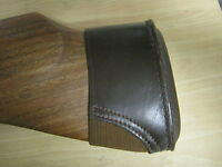 """""""anson & Deeley"""" Birchbrook 100% Real Leather Recoil Pad For Shotguns/air Rifles"""