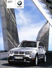 2009 09 BMW X3 Original Sales Brochure Mint