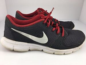 14764645483e Nike Flex Experience RN Men s Black Red White Running Shoes Size 7 ...