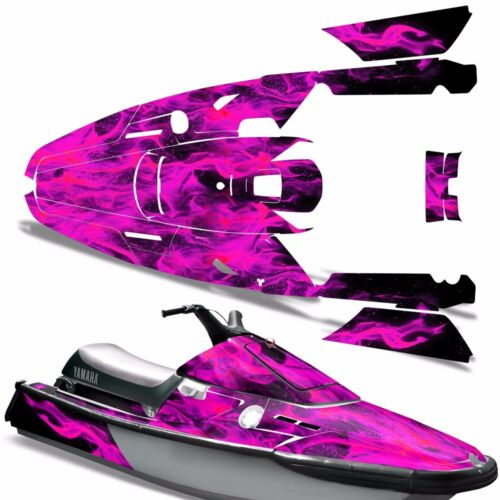 Decal Graphic Kit Yamaha Ski Wrap Jetski Waverunner Wave Runner 3 91-96 ICE PINK