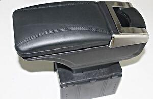 1 Armlehne Mittelarmlehne Armlehnenkonsole ECO LEDER SCHWARZ für OPEL ASTRA 2005
