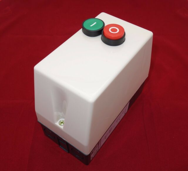 1PC Motor Magnetic Starter Fits LE1-D09 7-10A 110V AC 1.1KW 1.5Hp
