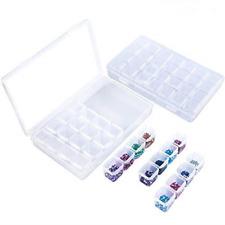 28 Grids 3D Diamond Painting Box Diamond Painting Storage Containers Art Kit Organizer 3 Pack