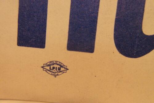 Hubert Humphrey Edwin Muskie Political President Campaign Car Bumper Sticker