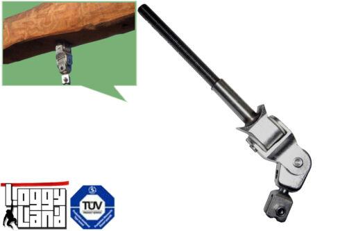 Schaukelgelenk Kreuzgelenk Voll-Edelstahl Schaukelhaken Bolzen 140mm M16 EN1176