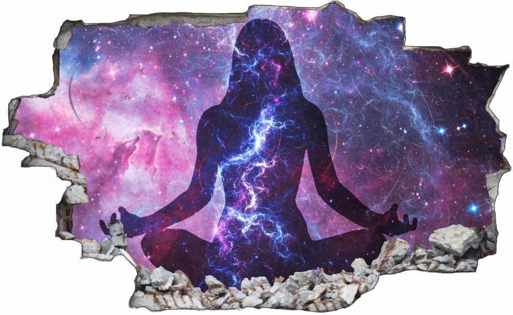 Galaxy all yoga yoga all Mural Sticker Autocollant c0878 c1966f