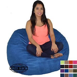 Super Details About Bean Bag Chair 4 Foot Cozy Bean Bag Sack Medium Pick Your Color Cjindustries Chair Design For Home Cjindustriesco