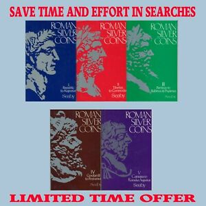 Roman-Silver-Coins-ALL-Volumes-1-5-H-A-Seaby-DIGITAL-DOWNLOAD