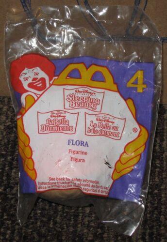 1996 Sleeping Beauty McDonalds Happy Meal Toy Flora #4