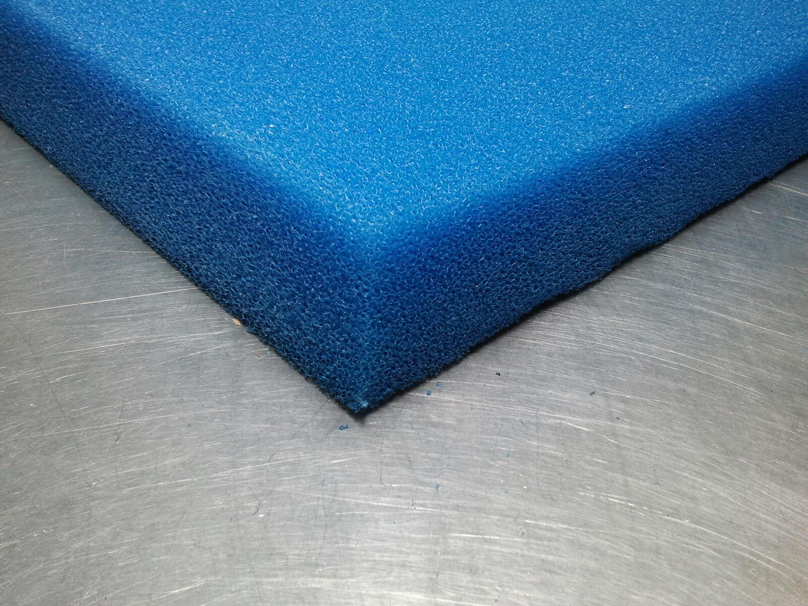 Filterschaum Filtermatte Schwimmteich Teichfilter 100x200x10 cm grob-fein