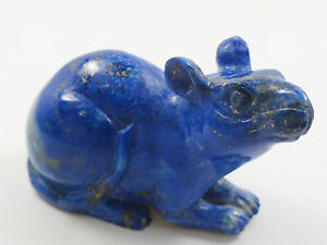 ANTIQUE-CHINESE-HAND-CARVED-LAPIS-LAZULI-SCULPTURE-OF-MOUSE