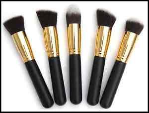Premium-5-Piece-Synthetic-Kabuki-Makeup-Brush-Set-Foundation-Eye-shadow-Blending