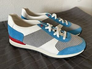 NEW-KITON-SHOES-SNEAKERS-SIZE-8-UK