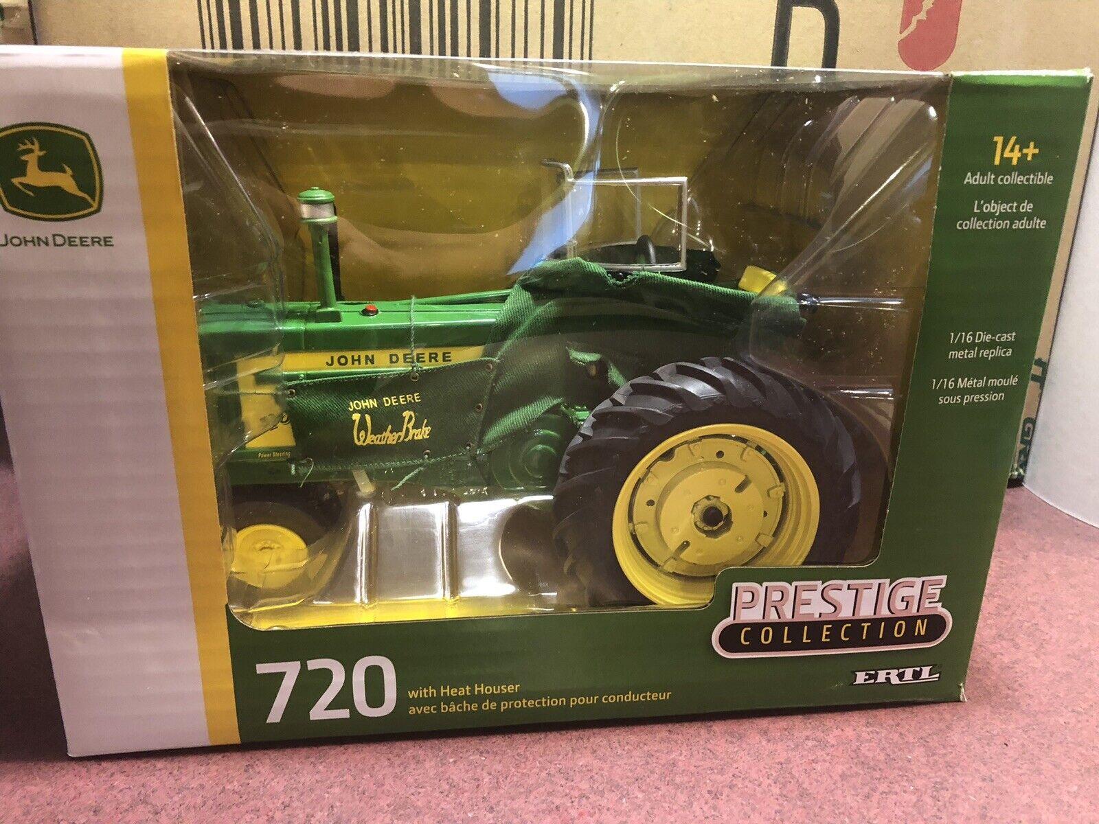 ERTL  1 16 Prestige Collection John Deere 720 Tractor w  heat Houser
