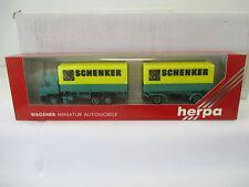 """Herpa 1/87 859002 MAN Wechselpritschen-HZ """"Schenker""""  WS5443"""