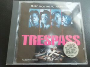 Trespass-Music from the Motion Picture CD, 1992, hip hop, Ice T CUBO
