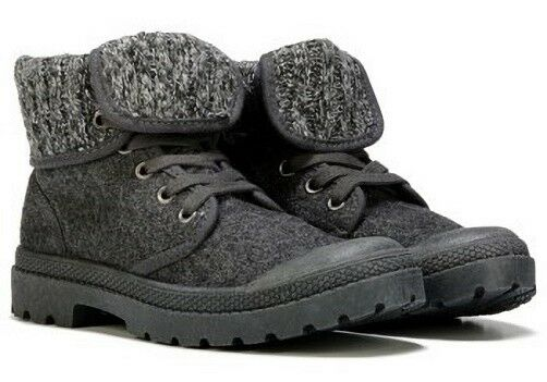 Rocketdog Pilot ankle boots charcoal gray roll down adjustable sz 11 Med NEU