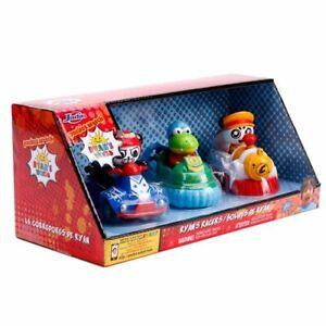 Jada-Toys-Ryan-039-s-World-Racers-Cars-3-Pack-Combo-Panda-ATV-Train-Gus-Hovercraft