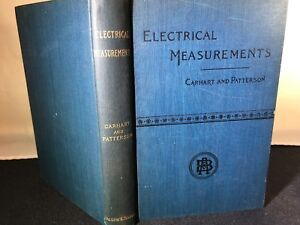 Electrical-Measurements-A-Laboratory-Manual-Henry-S-Harhart-1897-Hardcover